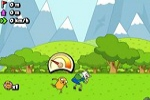 arkadne igre Adventure Time: Jumping Finn