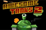 strelske igre Awesome Tanks 2