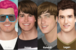 otroške igre Big Time Rush Makeover