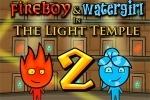 Fireboy & Watergirl 2 in The Light Temple
