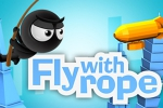mobilne igre Fly with Rope