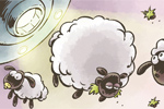 miselne igre Home Sheep Home 2: Lost in Space