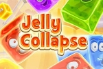 puzzle igre Jelly Collapse