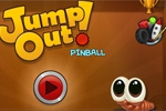 miselne igre Jump Out! Pinball