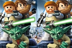 miselne igre Lego Star Wars: Differences