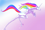 arkadne igre Robot Unicorn Attack