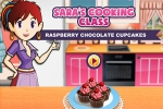 mobilne igre Sara's Cooking Class: Raspberry Chocolate Cupcakes