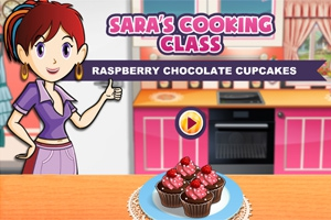 Sara's Cooking Class: Raspberry Chocolate Cupcakes