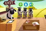 zabavne igre Shaun the Sheep's: Beauty Baahn