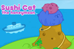 miselne igre Sushi Cat: The Honeymoon