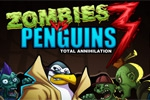 strelske igre Zombies vs Penguins 3: Total Annihilation