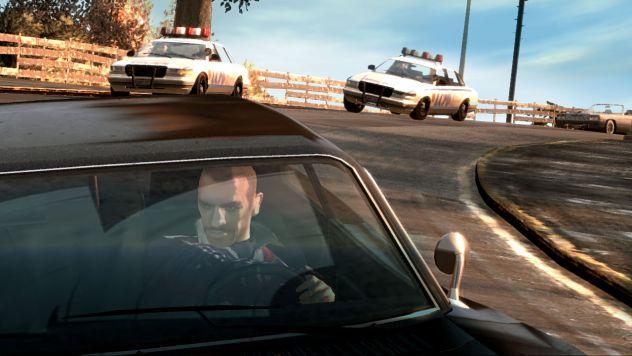GTA IV cop chase!