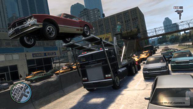 GTA IV Car Jump!