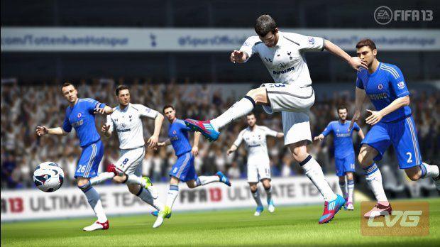 FIFA 13 Gareth Bale Shooting