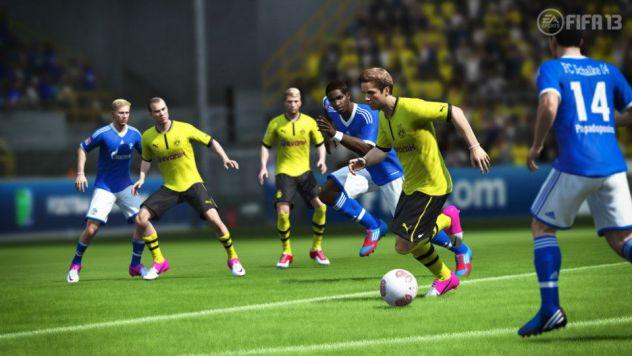 FIFA 13 Mario Gotze Dribbling (Borussia Dortmund vs. Schalke 04)