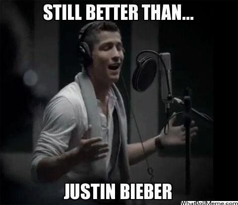 STILL A BETTER SINGER THAN JUSTIN BIEBER