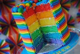like a rainbow...