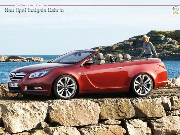 Opel insignia cabrio
