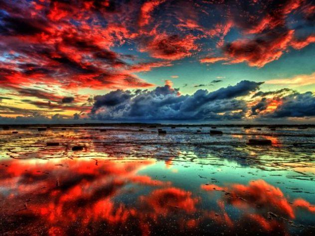lepo rdeče nebo