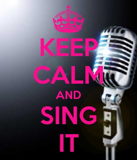 sing your heart out :D