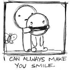 Smile!And show the world how beautiful you realy are. mwaa :*