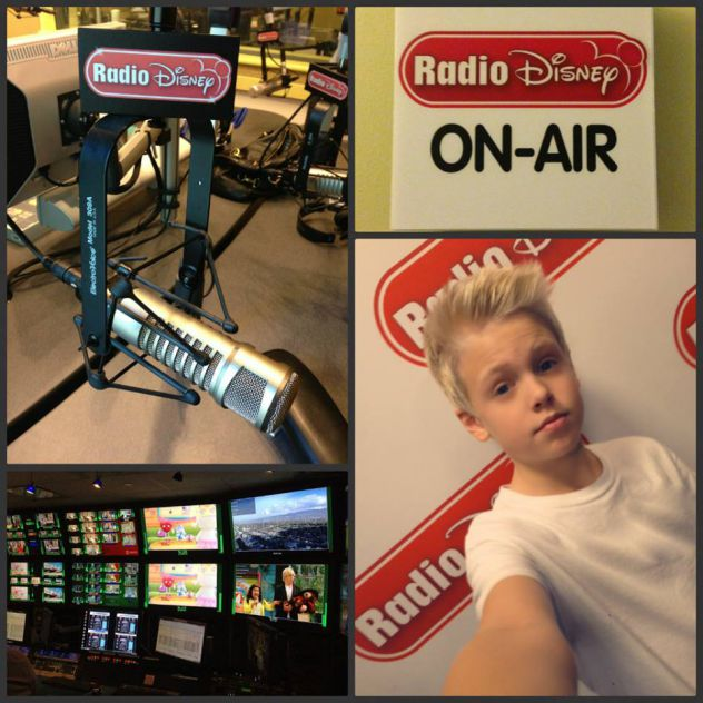 Visiting Radio Disney today!