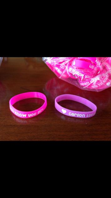 Free wristband with every T-shirt purchase http://www.carsonlueders.com/