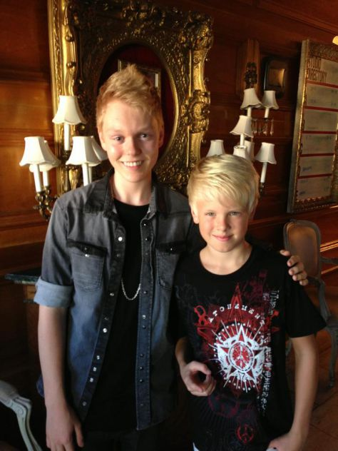 Great running into my buddy Jack Vidgen winner of Australia's Got Talent at the studio. He's got a killer voice like Mariah Carey!