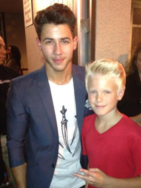 Great seeing the very talented @NickJonas. The guys @JonasBrothers put on an awesome concert last night!!!
