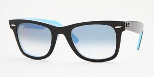 Black and blue ray - ban