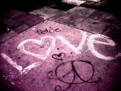 love with peace