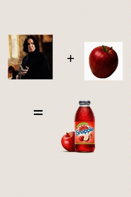 Snape Or Snapple
