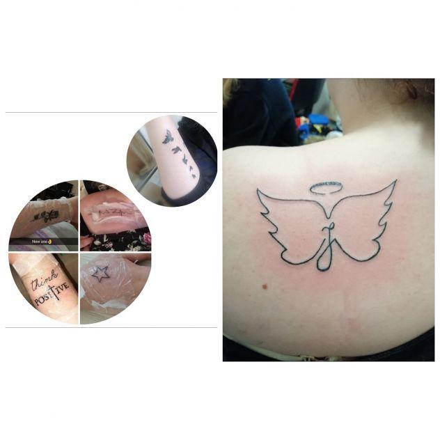 my tattoos :3