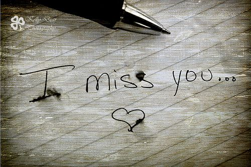 Imiss you :`(