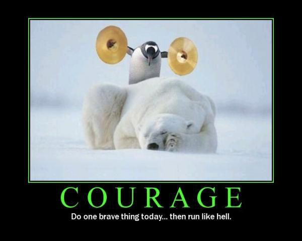 Želim si, da bi imela njegov pogum ^^