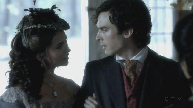 Katherine Pierce,Damon Salvatore