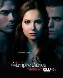 Stefan Salvatore,Elena Gilbert,Damon Salvatore-The Vampire Diaries