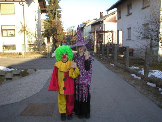 Jaz in moj brat-MAŠKARE