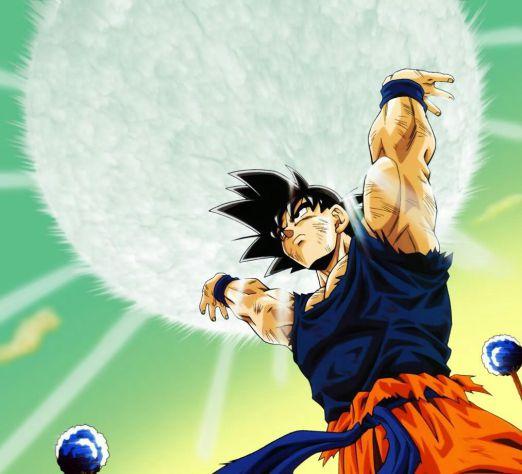 Goku take my energy!!!
