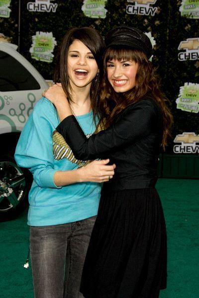 Selena Gomez in Demi Lovato najboljše prijateljice