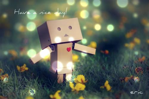 Have a nice day! <3