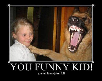 pes ki mu gre na smeh!