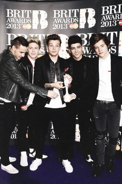 one direction on BRIT AWARDS