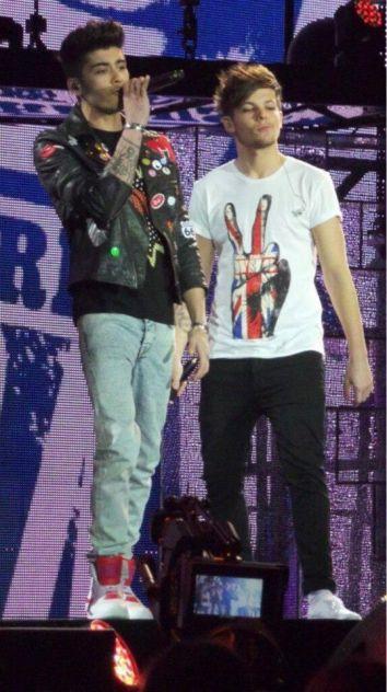 take me home tour #6 Zayn and Louis