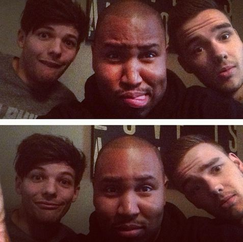 Lou and Liam at the studio 22.2