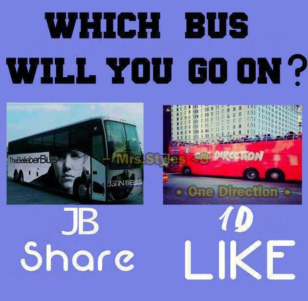 WHICH BUS?