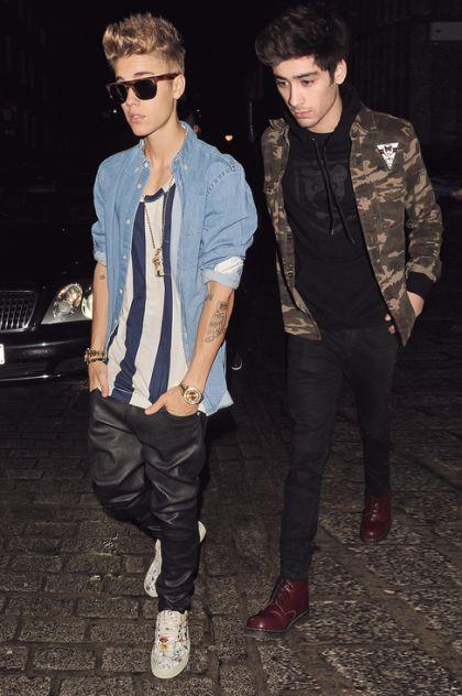 Zayn and Justin Bieber 1.3