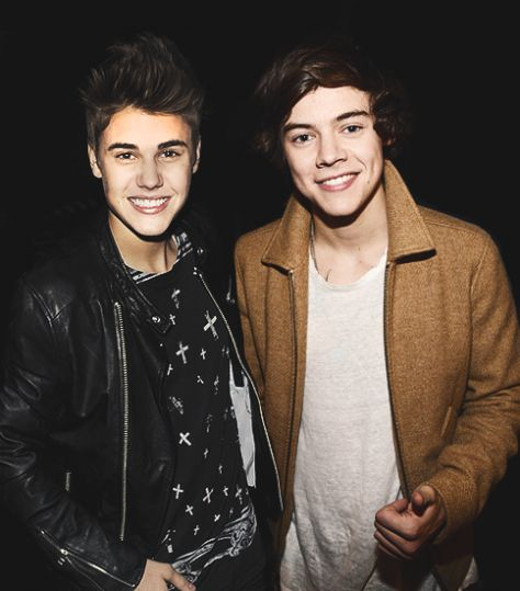 Harry and Justin Bieber 1.3
