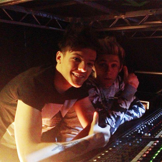 Lou and Niall