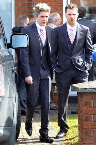 Niall na bratovi poroki